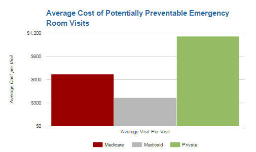 Potentially Preventable Emergency Room Visits: Department of Health