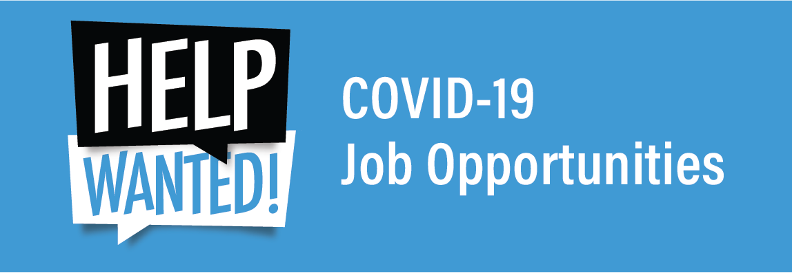 COVID-19 Job Opportunities