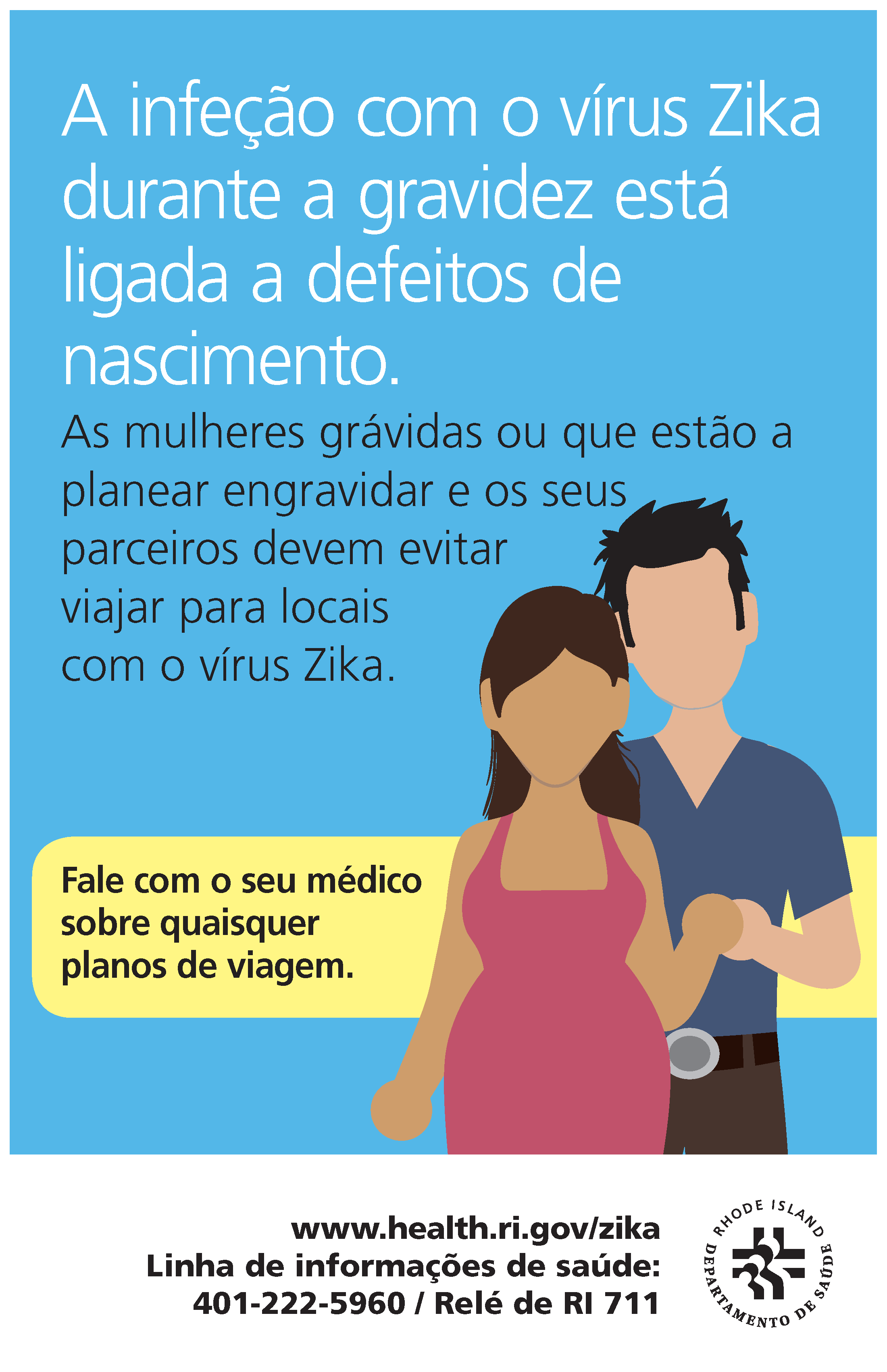 Infection With Zika Virus During Pregnancy Is Linked To Birth Defects (Portuguese)