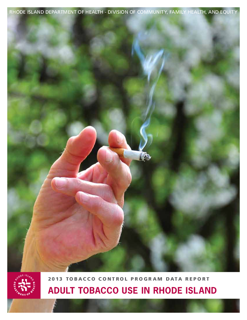 Adult Tobacco Use in Rhode Island