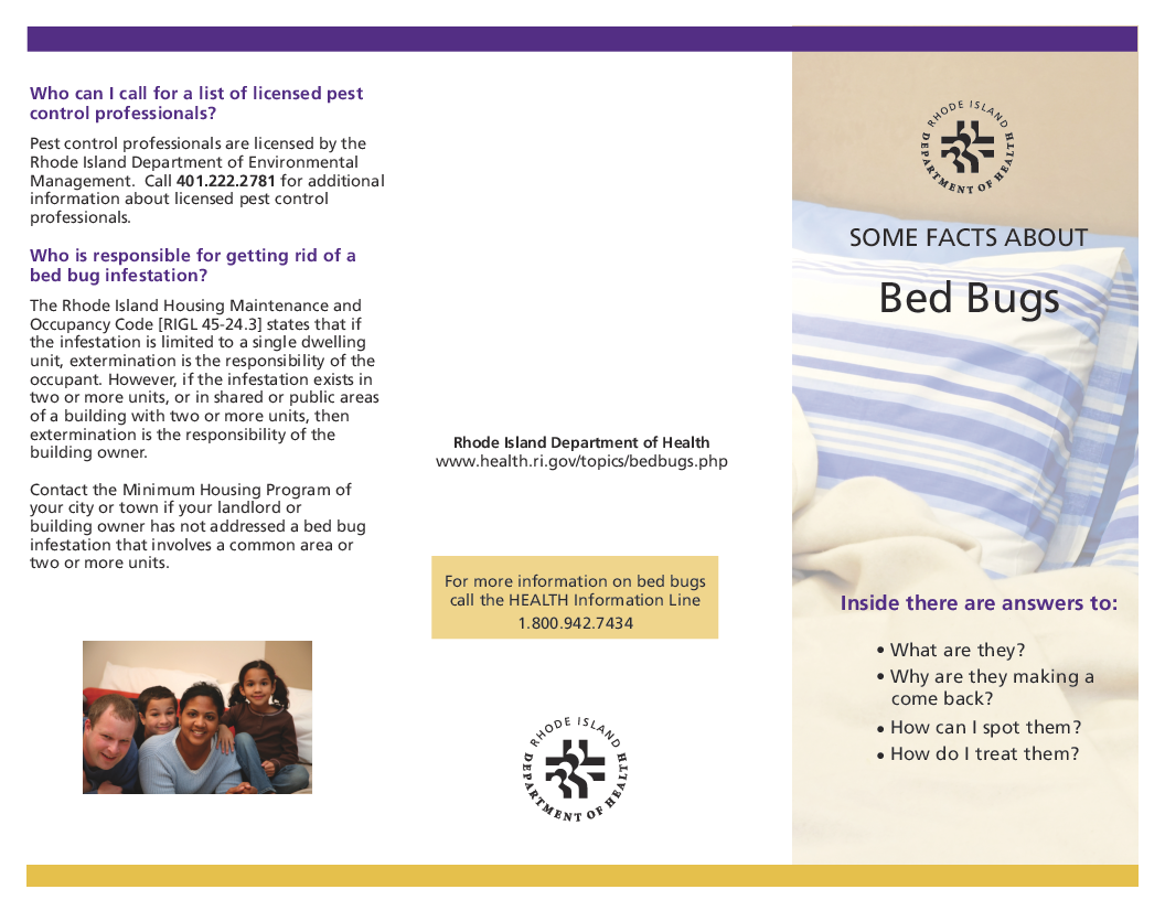 Some Facts about Bed Bugs