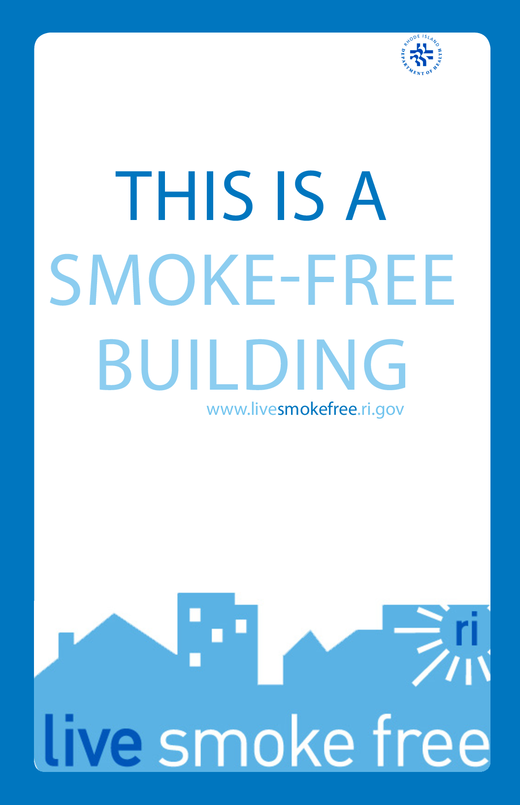 This is a Smoke-Free Building