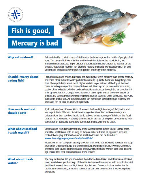Fish is Good: Mercury is Bad