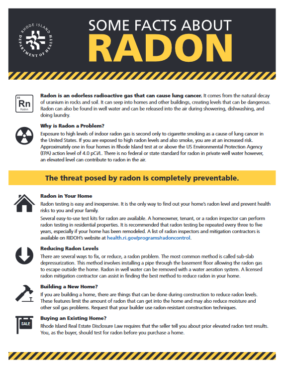 Some Facts about Radon