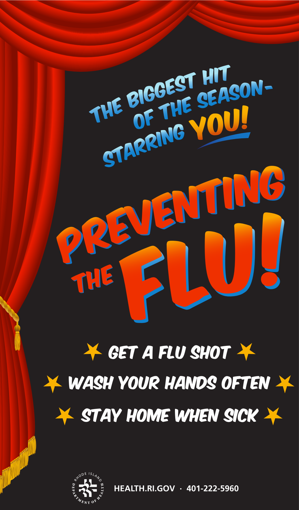 Flu Vaccination - Preventing the Flu, Starring You!