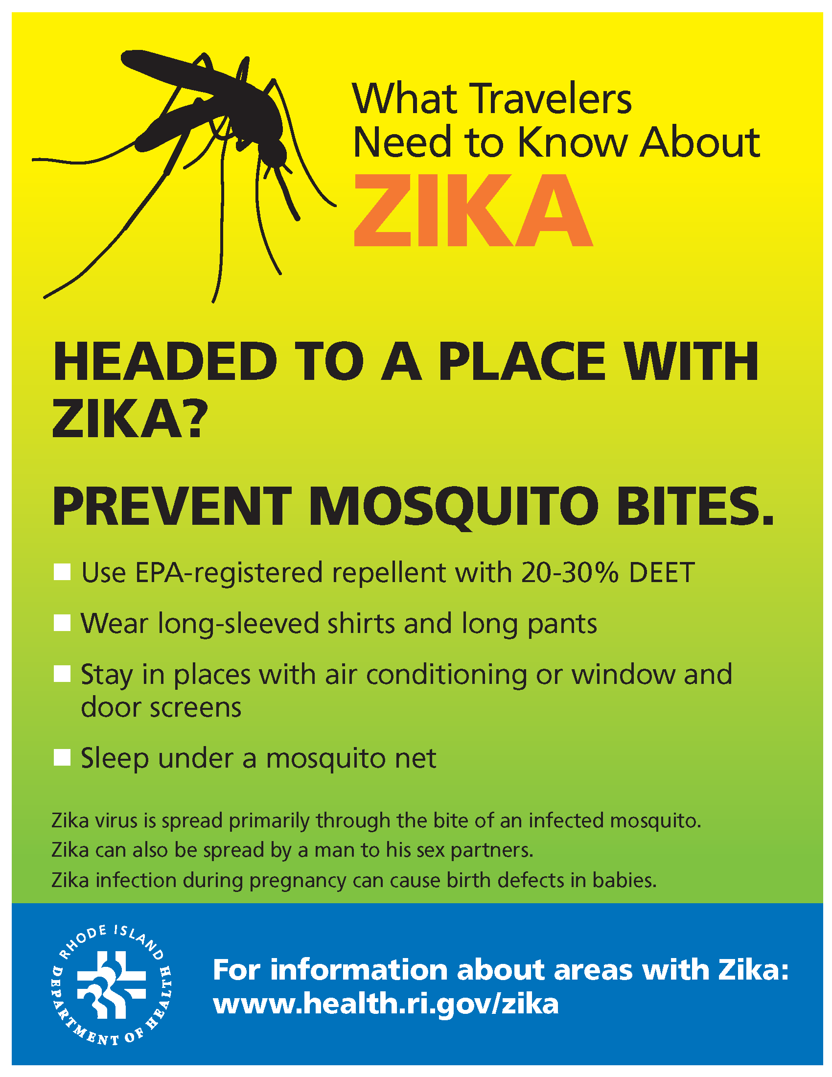 What Departing Travelers Need To Know About Zika